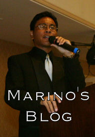 Enter Marino's Blog